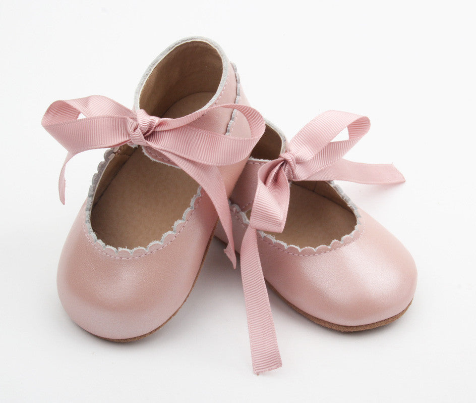 Mary Janes Ballet Pink