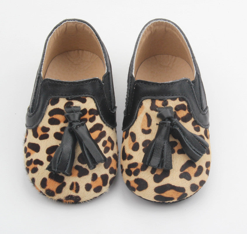 Princeton Loafers Leopard