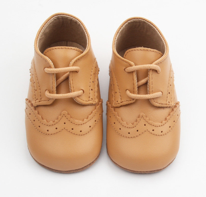 Harvard Brogues Tan