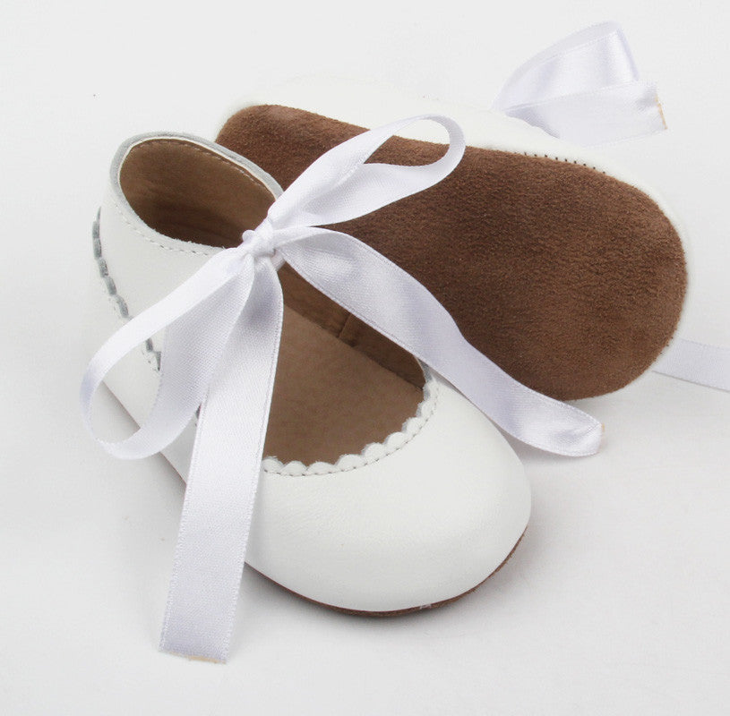 Mary Janes Pure White