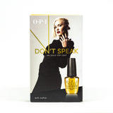Don't Speak 18K Gold Top Coat