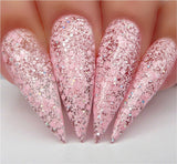 Kiara Sky Pinking of Sparkle - Dip Powder - D496