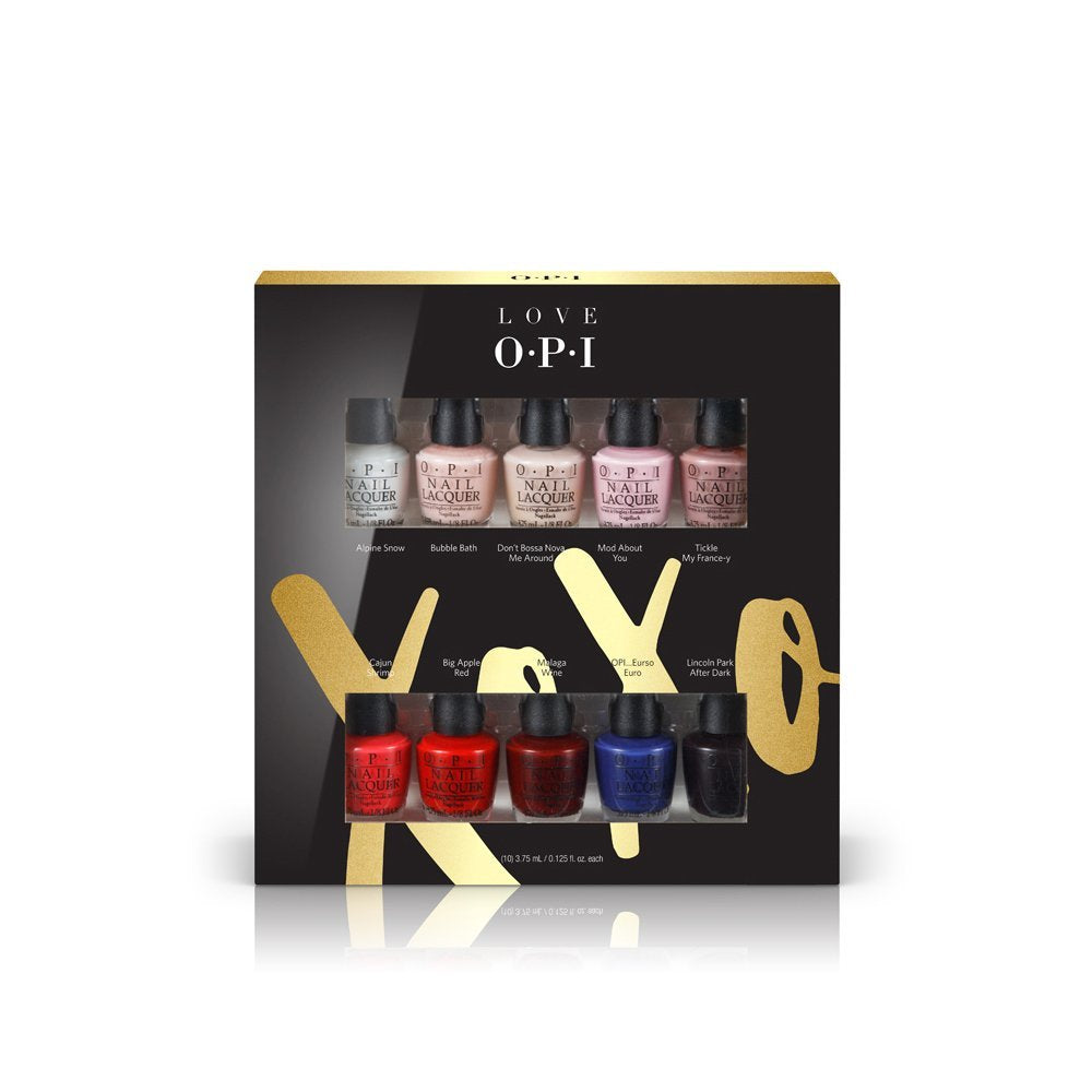 Love OPI Nail Lacquer 10 Pack XOXO Collection