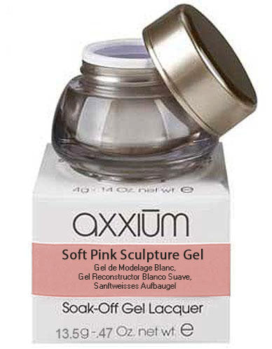 Axxium Soft Pink Sculpture Gel 0.47oz / 13.5g