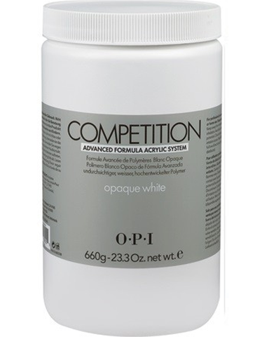 COMPETITION Acrylic Powder OPAQUE WHITE