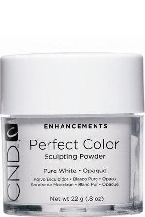 CND - PC Powder Pure White Opaque 0.8 oz