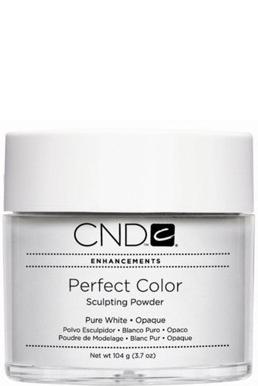 CND - PC Powder Pure White Opaque 3.7 oz
