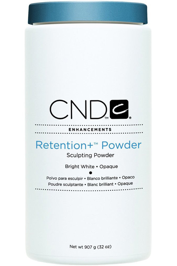 CND - Retention+ Powder Bright White Opaque 32 oz