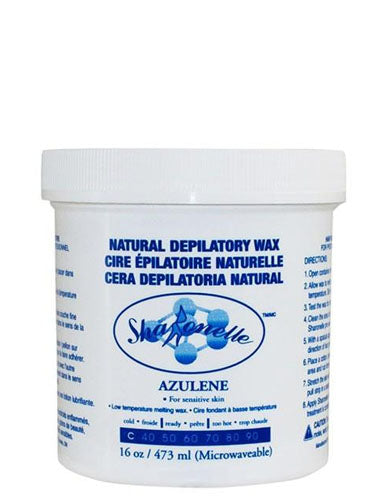 Azulene Microwaveable Wax
