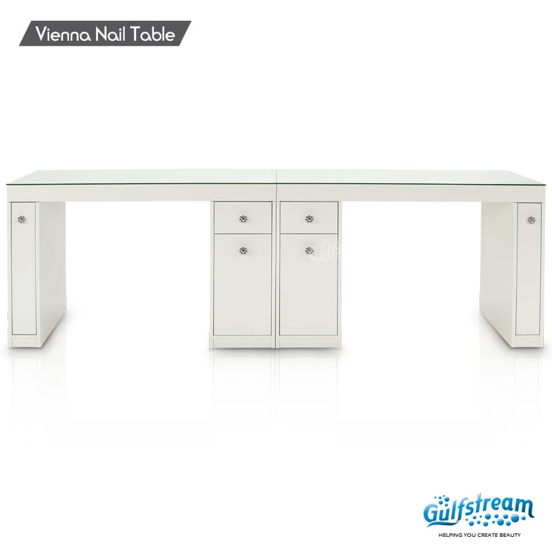 Vienna Double Nail Table