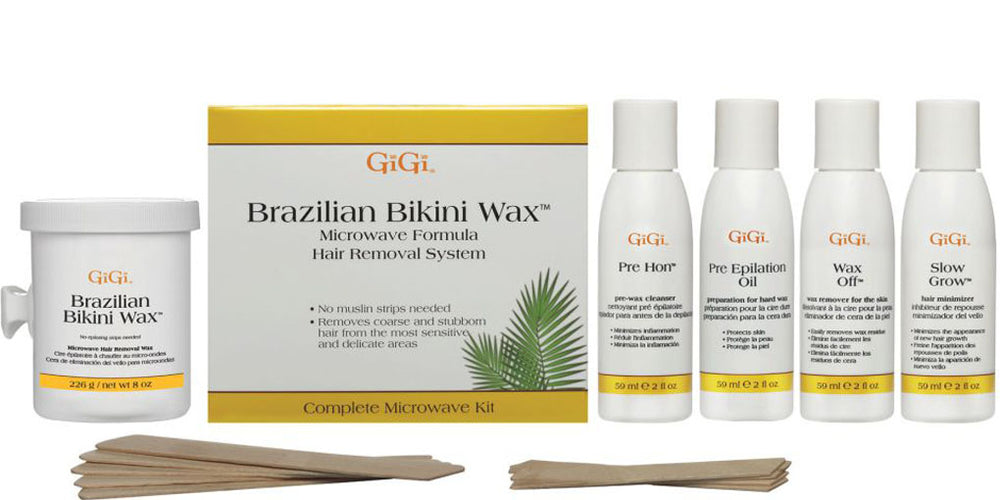 Brazilian Bikini Wax Microwave Kit