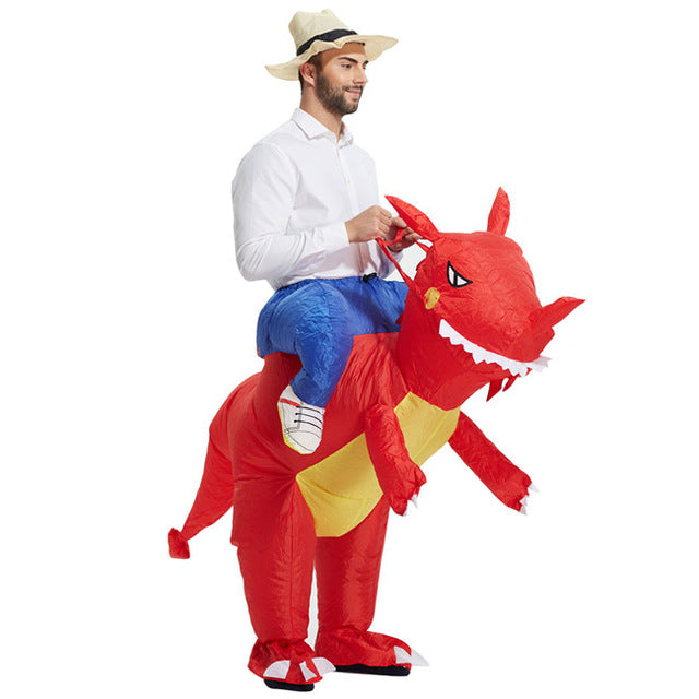 Inflatable Dinosaur Costume - Ellistore  sc 1 st  Ellistore : inflatable donkey costume  - Germanpascual.Com