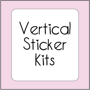 Vertical Sticker Kits