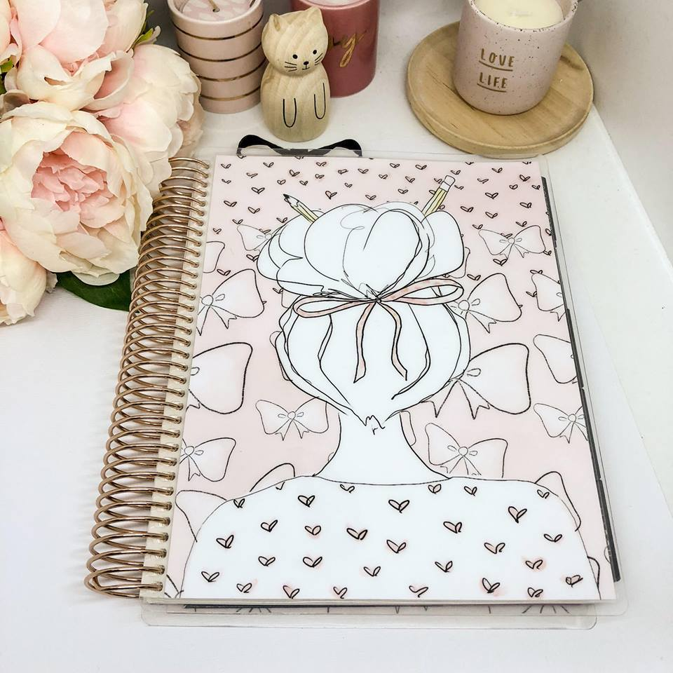 Planner Cover - Pretty In Pink