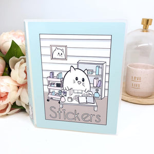 Sticker Album - Chonky Desk