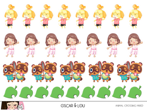 Mini Sheet  - Animal Crossing Mixed