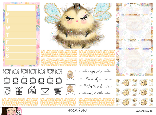 Vertical Sticker Kit - Queen Bee