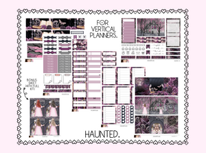 Vertical Sticker Kit - Haunted