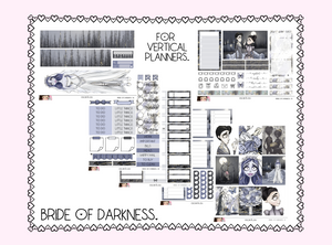 Vertical Sticker Kit - Bride of Darkness