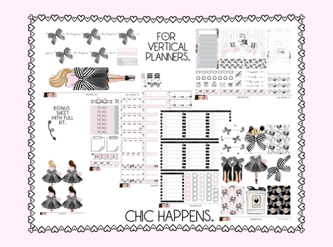 Vertical Sticker Kit - Chic Happens