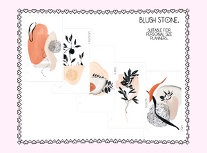 Personal Dashboard & Dividers - Blush Stone