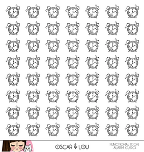 Lil Mini Sheet  - Neutral Heart Planner Icons Set 1
