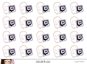 Mini Sheet  - Squish Twitch Icon