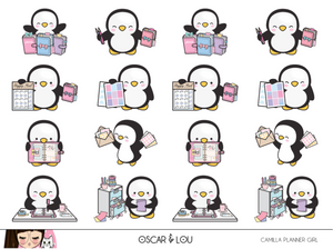 Mini Sheet  - Camilla The Penguin Planner Girl