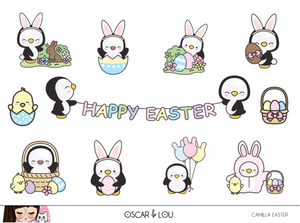 Mini Sheet  - Camilla The Penguin Easter