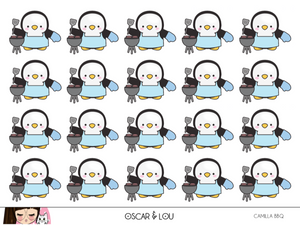 Mini Sheet  - Camilla The Penguin BBQ