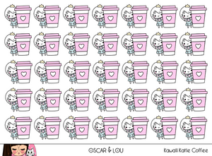 Mini Sheet  - Kawaii Katie Coffee