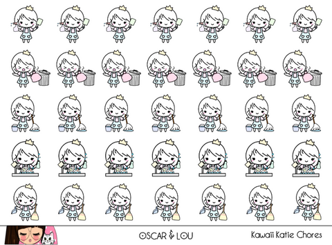 Mini Sheet  - Kawaii Katie Chores