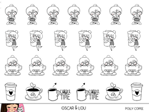 Mini Sheet  - Polly Coffee