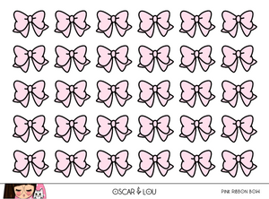 Mini Sheet  - Ribbon Bows