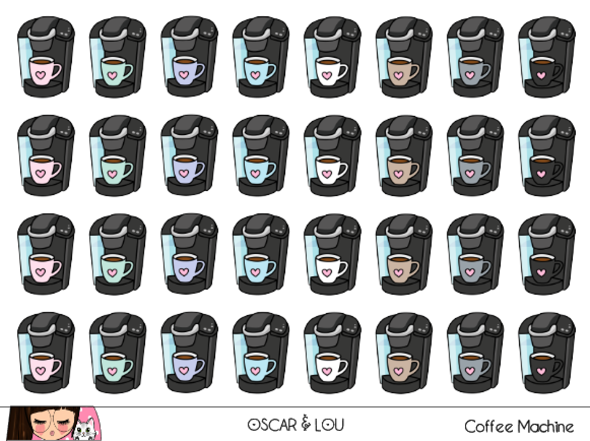 Mini Sheet  - Coffee Machines