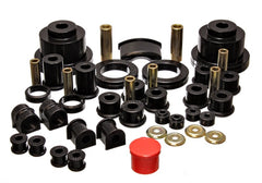 Energy Suspension 04-06 Pontiac GTO Black Master Bushing Set