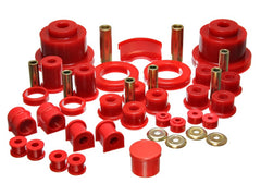 Energy Suspension 04-06 Pontiac GTO RED Master Bushing Set