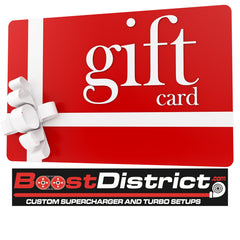 BoostDistrict.com Website Gift Card