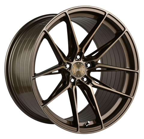 "Vertini 1.8 19/20"" Brushed Bronze Wheels C8 Corvette 2020+"