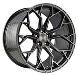 "Stance SF10 20/20"" Brushed Gunmetal Wheels C8 Corvette 2020+"