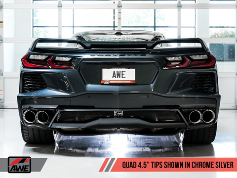AWE Tuning 2020 Corvette (C8) Track Edition Exhaust