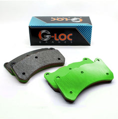 G-LOC R18 Brake Pads (non-Z51) Front+Rear (Race) C8 Corvette