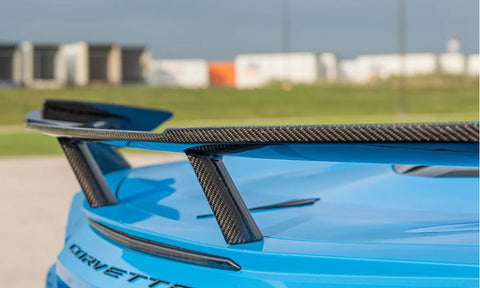 C8 CORVETTE Carbon Fiber High Wing Spoiler