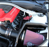 Rotofab intake for LSA Supercharged Camaro