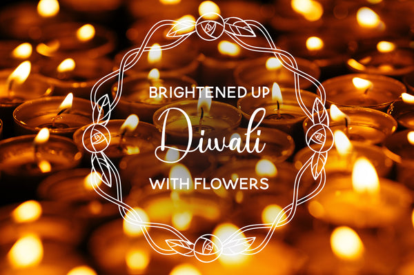 Brightened Up Diwali With Flowers