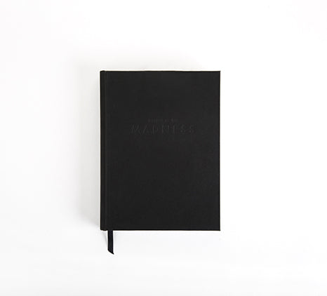 MADNESS PLANNER - REBEL MATTE BLACK