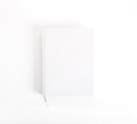 MADNESS PLANNER - CLEAN SLATE WHITE
