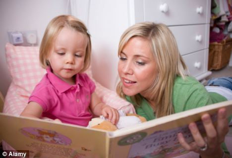 encourage reading by reading to your child