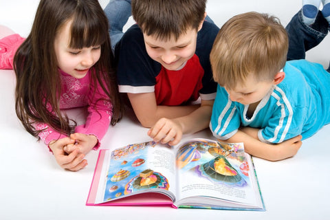 encourage reading with friends