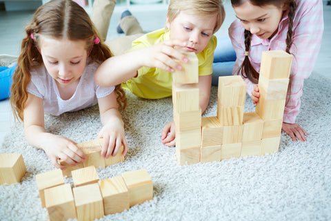 Human, Why Kids Love Playing with Blocks & Knocking Them Down!